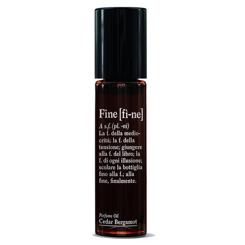 Fine Perfume Oil Roll-On Cedar Bergamot