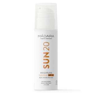 Madara SUN 20 Weightless Sun Milk SPF20