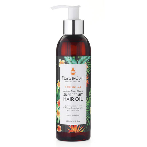 Flora & Curl Superfruit Hair Oil