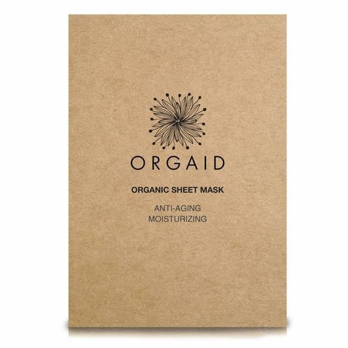 Orgaid 4 PACK Moisturizing Sheet Mask Anti-Aging
