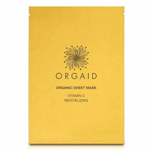 Orgaid 4 PACK Revitalizing Sheet Mask Vitamin C