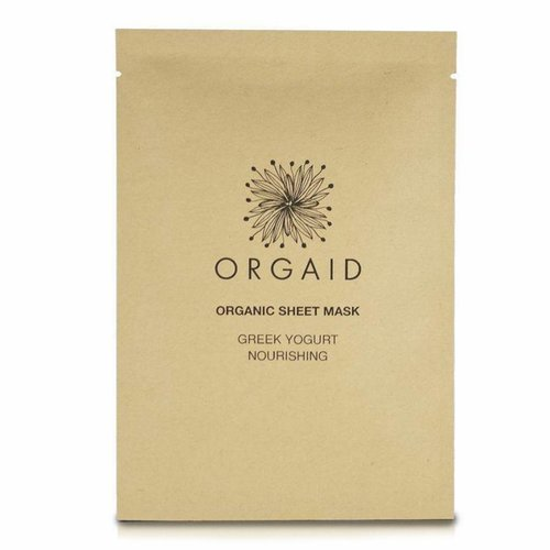 Orgaid 4 PACK Nourishing Sheet Mask Greek Yogurt
