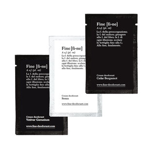Fine Deodorant Cream SAMPLE PACK