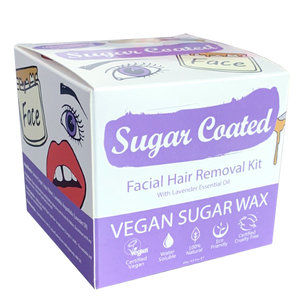 Sugar Coated Facial Hair Removal Kit