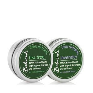 Balmonds Tea Tree & Lavender Balm Duo