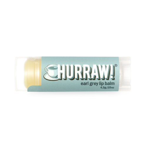 Hurraw! Earl Grey Organic Lip Balm