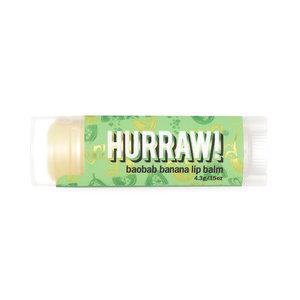 Hurraw! Baobab Banana Organic Lip Balm
