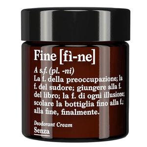 Fine Deodorant Cream Senza
