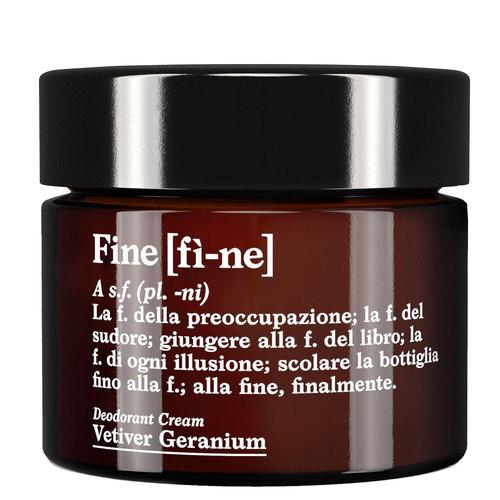Fine Deodorant Cream Vetiver Geranium LARGE