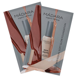 Madara Skin Equal SPF15 Soft Glow Foundation SAMPLE SET
