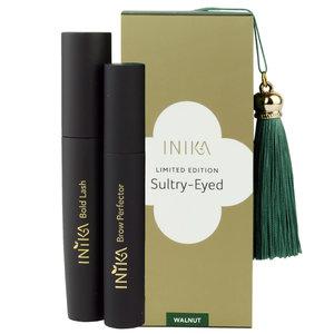 Inika Sultry Eyed: Lash & Brow Gift Set WALNUT
