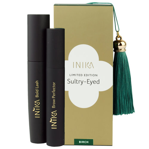 Inika Sultry Eyed: Lash & Brow Gift Set BIRCH