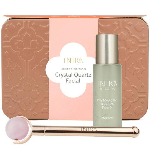 Inika Crystal Quartz Facial Gift Set