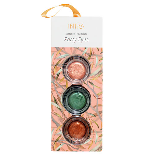 Inika Party Eyes Metallic Eyeshadow Set