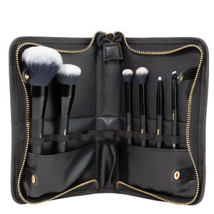 Inika 6 Pieces Vegan Brush Roll Set