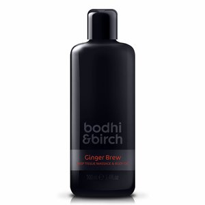 Bodhi & Birch Ginger Brew Deep Tissue Massage & Body Oil