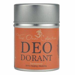 The Ohm Collection DEOdorant Poeder Sandalwood