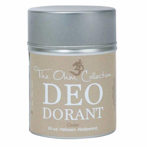 The Ohm Collection DEOdorant Poeder Ceder