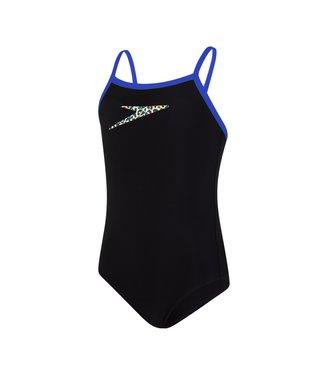 Speedo Boom Placement Thinstrap Muscleback Zwart - Blauw