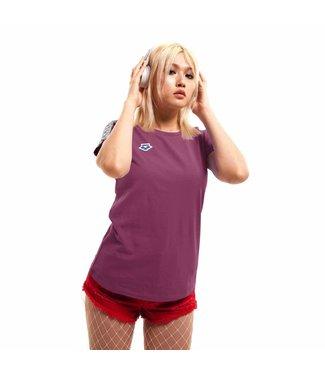 Arena W T-Shirt Team redwine-coolgrey-redwine