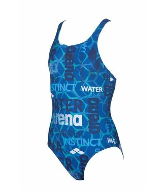 Arena G Evolution Jr Swim Pro One Piece L pix-blue-navy