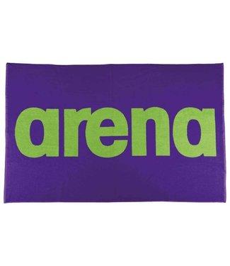 Arena Handdoek Paars - Groen
