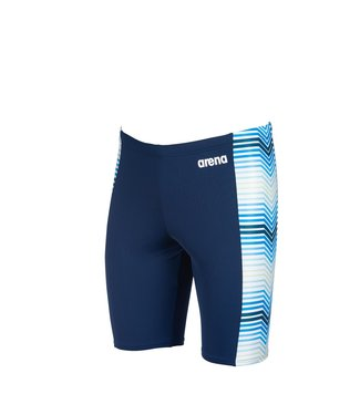 Arena M Stripes Jammer navy-multi