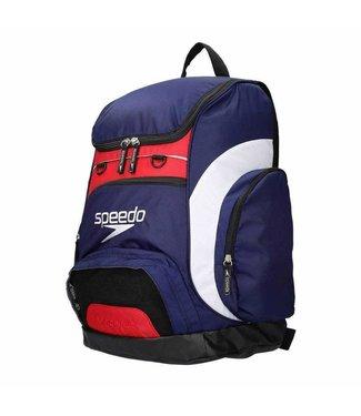 Speedo Team backpack 35 liter Blauw - Wit - Rood