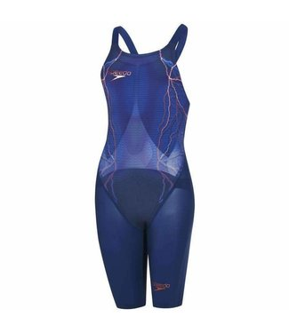Speedo LZR Elite 2 Open Back Blauw