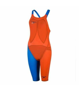 Speedo Lzr Racer Elite 2 Open Back Blauw/Oranje