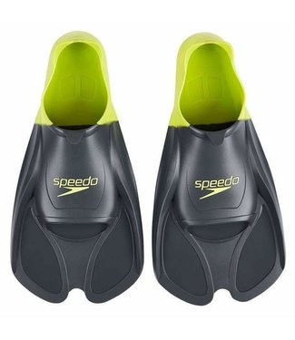Speedo Training fins Limegroen / grijs