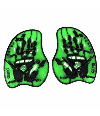 Arena Vortex Evolution Hand Paddle acid-lime/black