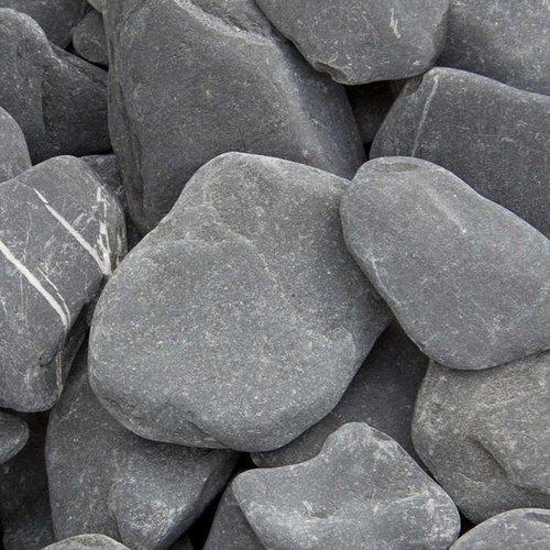 Flat Pebbles zwart Big Bag
