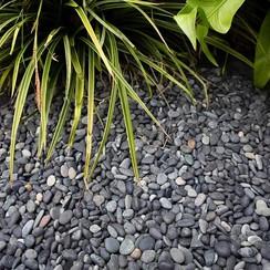 Beach Pebbles zwart Big Bag - 1500 kg