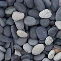 Beach Pebbles zwart Big Bag