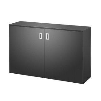 OVVIS HomeFit - Zit sta bureau - Zwart