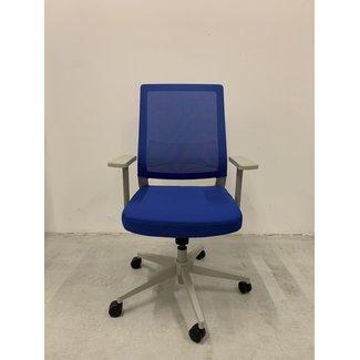 OVVIS Blauwe 2e Hands Bureaustoel