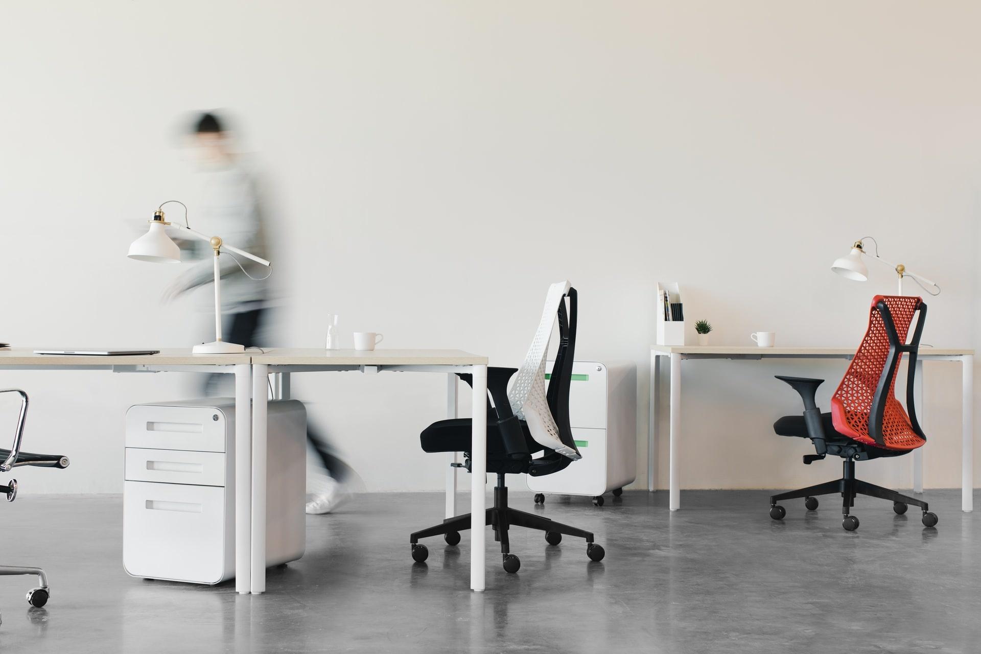 Bureaustoel met of zonder armleuning
