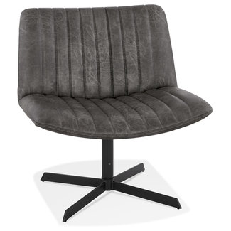 OVVIS Fauteuil Dione - Donkergrijs