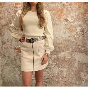 Nikkie Mels skirt cream