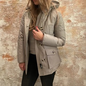Airforce 4 Pocket Parka Classic Silver Sage