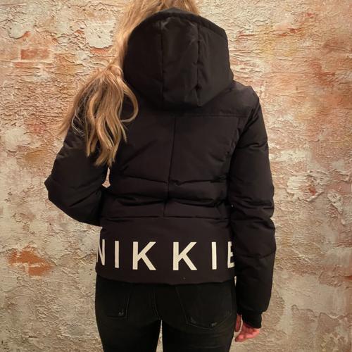 Nikkie Logo Ski Jacket Black