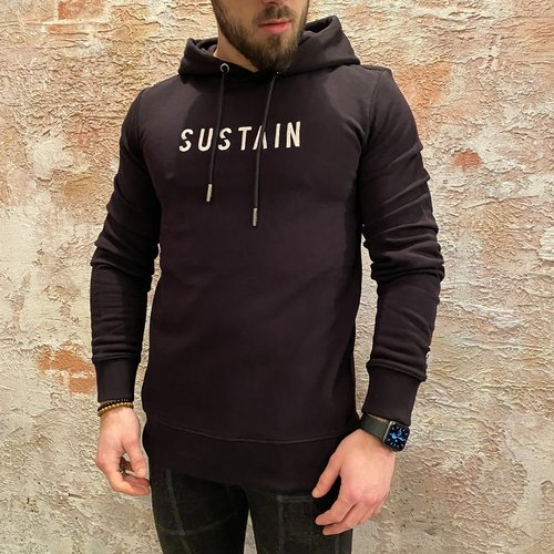Sustain Splash Regular hoodie Black