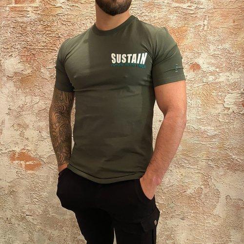 Sustain Snakes Regular T-shirt Black