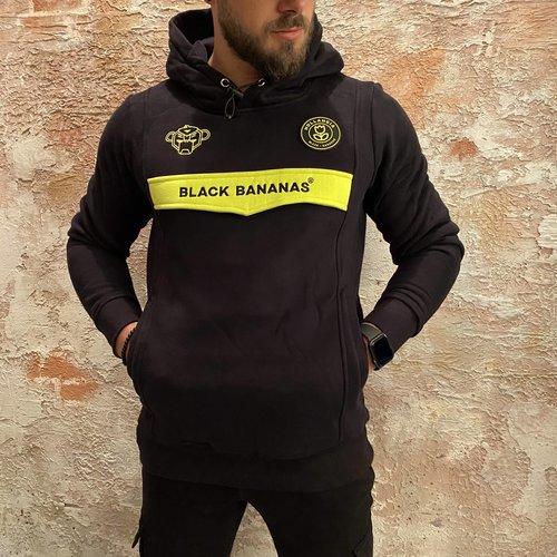 Black Bananas Anorak Black Yellow