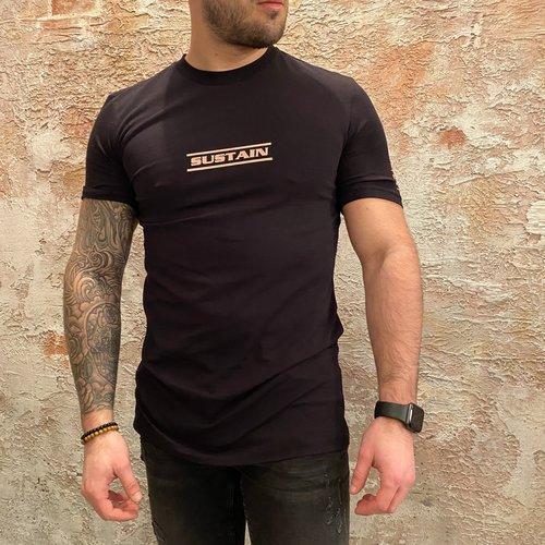 Sustain Resist Regular T-Shirt Black