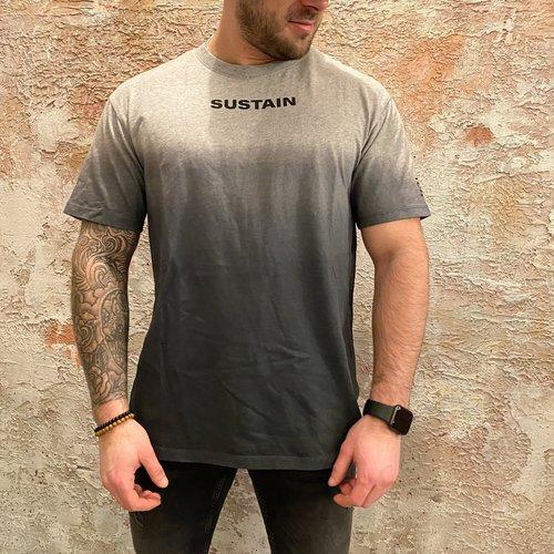 Sustain Degrade Boxy T-Shirt Mild Grey