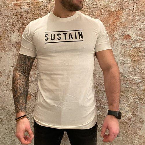 Sustain Logo T-Shirt White