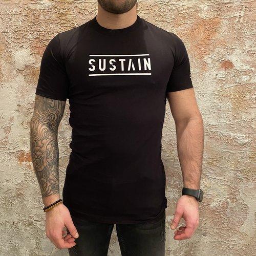 Sustain Logo T-shirt Black