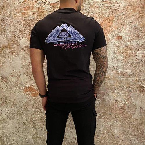 Sustain E.Y.E Regular T-shirt Black